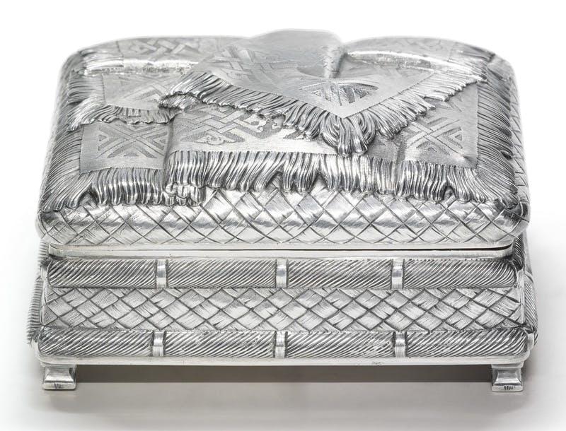 Russian Silver Box