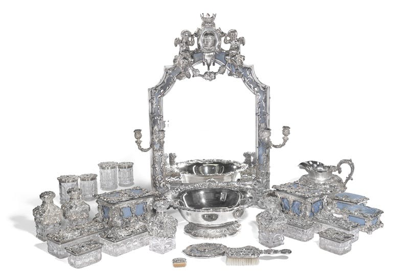 Antique Silver Set